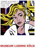 M-måske, på engelsk, ca.1965 Posters af Roy Lichtenstein