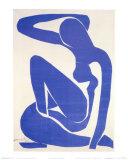 Blue Nude I, c.1952 Affiches par Henri Matisse