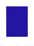 Untitled, Blue Monochrome, c.1961 (IKB73) Sérigraphie par Yves Klein