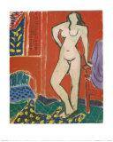 Pink Nude, Red Interior, c.1947 Posters av Henri Matisse