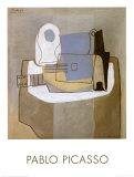 Guitar, Bottle and Fruit Bowl, c.1921 Posters par Pablo Picasso