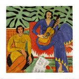 Music, c.1939 Print by Henri Matisse
