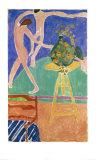Dancing Capuchins I, c.1912 Plakater av Henri Matisse