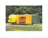 Mobile Home for Kroller Muller, c.1995 Poster van Joep Van Lieshout