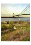 Fort Wadsworth by Verrazano Bridge Posters por Igor Maloratsky