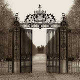 Hampton Gate Poster by Alan Blaustein