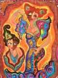 Les Flamencas Affiches par B. Ingrid