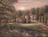 Evening in Tuscany II Posters par Betsy Brown