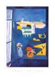 Raam boven Tanger Poster van Henri Matisse