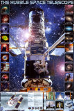 Hubble Telescope Poster