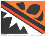 La Grenouille et Cie Kunstdrucke von Alexander Calder