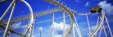 Batman the Escape Rollercoaster, Astroworld, Houston, Texas, USA Photographic Print