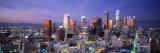 Night, Skyline, Cityscape, Los Angeles, California, USA Photographic Print