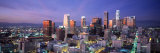 Night, Skyline, Cityscape, Los Angeles, California, USA Photographic Print by  Panoramic Images