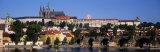 Vltava River, Prague, Czech Republic Photographic Print