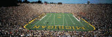 University of Michigan Stadium, Ann Arbor, Michigan, USA Fotografisk tryk