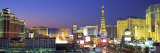 Dusk, the Strip, Las Vegas, Nevada, USA Photographic Print