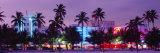 South Beach, Miami Beach, Florida, USA Fotografisk trykk av Panoramic Images,