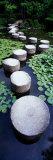 Shrine Garden, Kyoto, Japan Impressão fotográfica