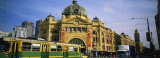 Facade of a Building, Flinders Street Station, Melbourne, Victoria, Australia Photographic Print