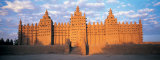 Great Mosque of Djenne, Mali, Africa Fotografisk trykk av Panoramic Images,