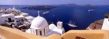 Santorini, Greece Fotografisk tryk af Panoramic Images,