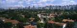 High Angle View of Buildings in a City, Sao Paulo, Brazil Fotografisk trykk av Panoramic Images,