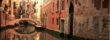 Reflection of Buildings in Water, Venice, Italy Photographic Print