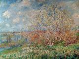 Spring, 1880-82 Giclee-trykk av Claude Monet