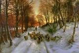 Glowed with Tints of Evening Hours Gicléedruk van Joseph Farquharson