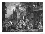 The Election II; Canvassing for Votes, 1757 Giclee Print by William Hogarth