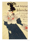 "Reproduction of a Poster Advertising ""La Revue Blanche"", 1895 Lámina giclée por Henri de Toulouse-Lautrec"