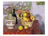 Still Life with Tureen, circa 1877 Lámina giclée por Paul Cézanne