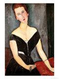 Madame G. Van Muyden, 1917 Reproduction procédé giclée par Amedeo Modigliani