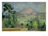 Montagne Sainte-Victoire, circa 1887-90 Reproduction procédé giclée par Paul Cézanne