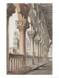 The Ducal Palace, Renaissance Capitals of the Loggia, 1851 Giclee Print by John Ruskin