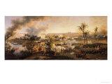 Battle of the Pyramids, 21st July 1798, 1806 Reproduction procédé giclée par Louis Lejeune
