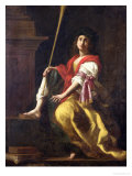 Clio, Muse of History, 1624 Giclée-tryk af Giovanni Baglione