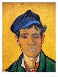 Young Man with a Hat, c.1888 Impressão giclée por Vincent van Gogh