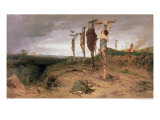 The Damned Field, Execution Place in the Roman Empire, 1878 Reproduction procédé giclée par Fedor Andreevich Bronnikov