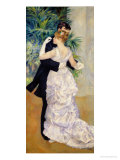 Dance in the City, 1883 Giclee-trykk av Pierre-Auguste Renoir
