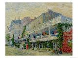 Restaurant de La Sirene at Asnieres, c.1887 Impressão giclée por Vincent van Gogh