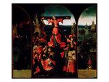 St. Liberata Triptych Giclée-Druck von Hieronymus Bosch