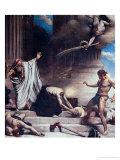 The Martyrdom of St. Denis Giclée-vedos tekijänä Leon Joseph Florentin Bonnat