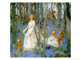 The Fairy Wood Giclee Print by Henry Meynell Rheam