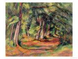 Sous-Bois 1890-94 Lámina giclée por Paul Cézanne