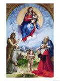 The Foligno Madonna, circa 1511-12 Reproduction procédé giclée par  Raphael