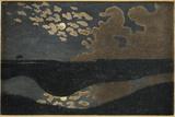 Moonlight, 1894 Giclee-trykk av Félix Vallotton