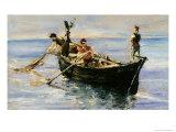 Fishing Boat, 1881 Lámina giclée por Henri de Toulouse-Lautrec