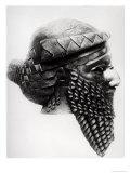 Head of Sargon I 2400-2200 BC Lámina giclée por  Mesopotamian